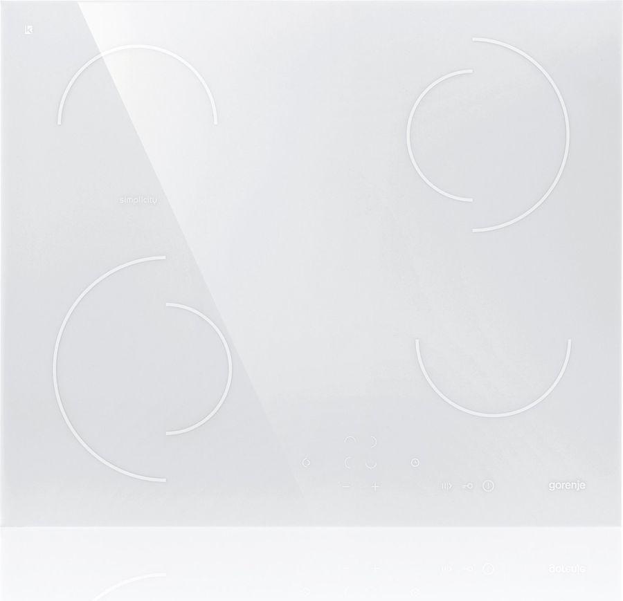 Варочная панель GORENJE Simplicity ECT6SY2W,  Hi-Light,  независимая,  белый