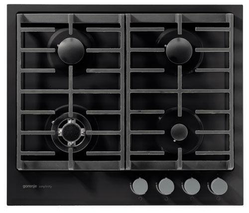 Варочная панель GORENJE Simplicity G6SY2B,  независимая,  черный
