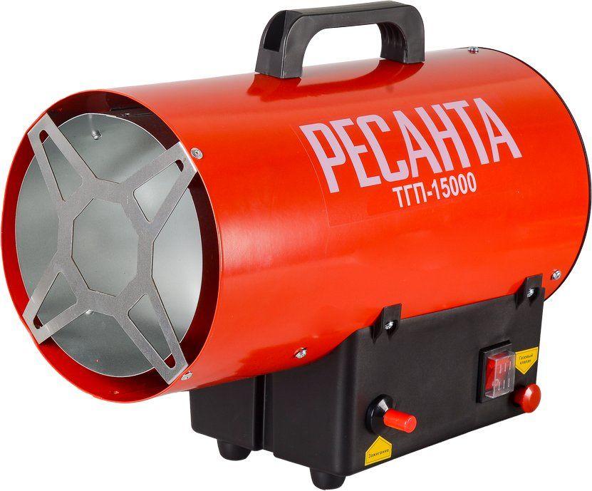 Тепловая пушка газовая РЕСАНТА ТГП-15000,  18кВт красный
