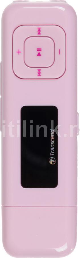 MP3 плеер TRANSCEND MP330 flash 8Гб розовый [ts8gmp330p]