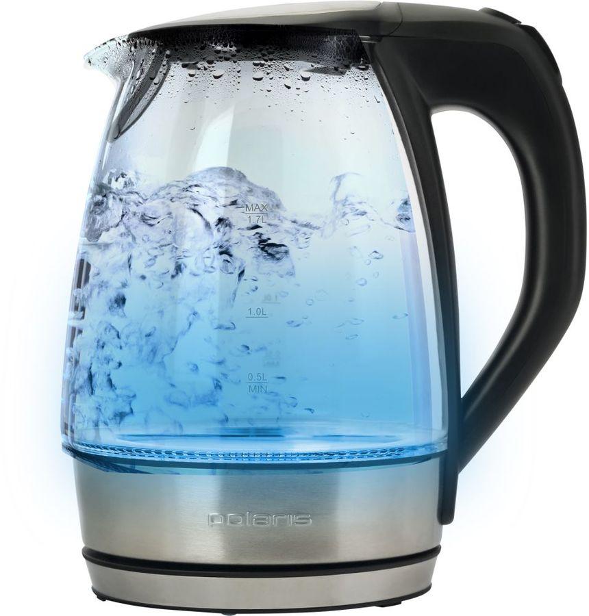 Чайник Polaris PWK 1729CGL черный (отремонтированный)