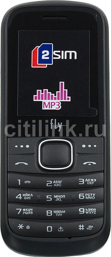 Мобильный телефон FLY DS103D  черный