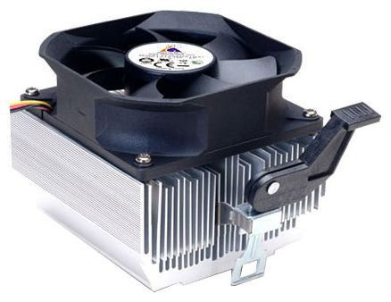 Вентилятор Glacialtech Igloo 7321 Light Soc-AMD/ 3pin 25dB Al 95W 380g скоба RTL