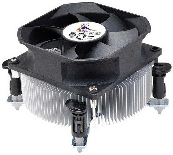 Устройство охлаждения(кулер) GLACIALTECH Igloo 1050 PWM,  80мм, Ret
