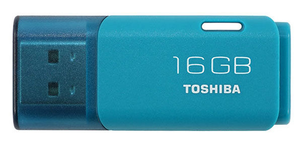 Флешка USB TOSHIBA Hayabusa 16Гб, USB2.0, голубой [thnu16hayaqa(6]