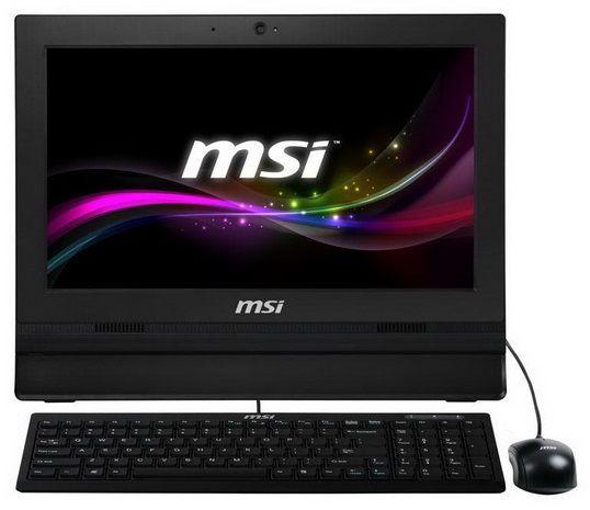 Моноблок MSI AP1612-029XRU, Intel Celeron, 4Гб, Intel HD Graphics, DVD-RW, noOS [9s6-a61211-029]