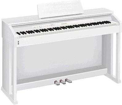 Цифровое фортепиано CELVIANO CASIO AP-450WE, 88, полновзвешенная, полноразмерные, 256, белый