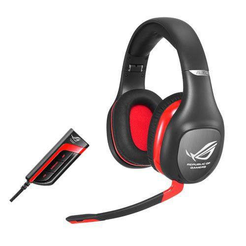 Наушники с микрофоном ASUS Vulcan Pro,  мониторы, черный  / красный [90-yahi7180-ua00]