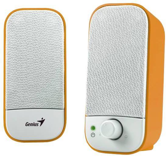 Колонки GENIUS SP-A120,  оранжевый [31731045100]