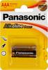Батарея PANASONIC Alkaline Power LR03APB/2BP LR03,  2 шт. AAA вид 1