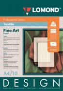 Фотобумага Lomond 0919041 A4/200г/м2/10л./белый матовое лён для струйной печати