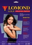 Фотобумага Lomond 1100202 A4/325г/м2/20л./белый атласное (сатин) художественный шелк для струйной пе