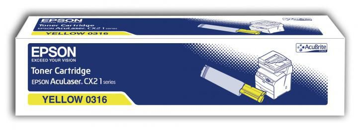 Картридж EPSON C13S050316 желтый