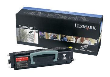 Картридж LEXMARK X340A21G черный