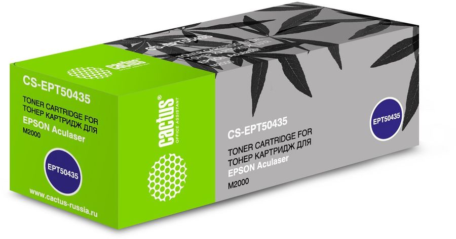 Картридж CACTUS CS-EPT50435 черный