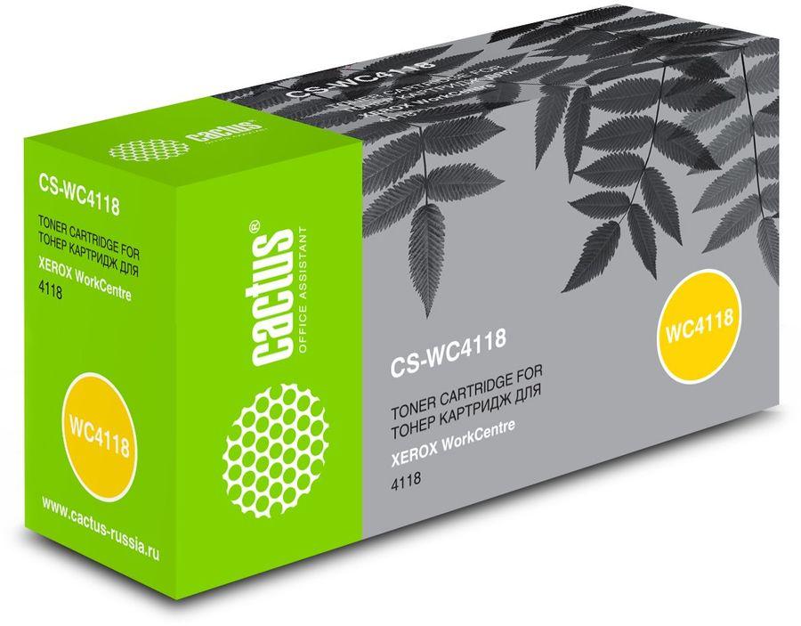 Картридж CACTUS CS-WC4118 черный