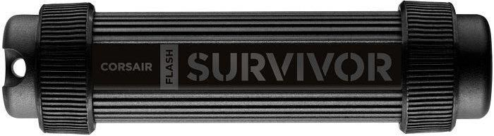 Флешка USB CORSAIR Survivor Stealth 128Гб, USB3.0, черный [cmfss3-128gb/cmfss3b-128gb]