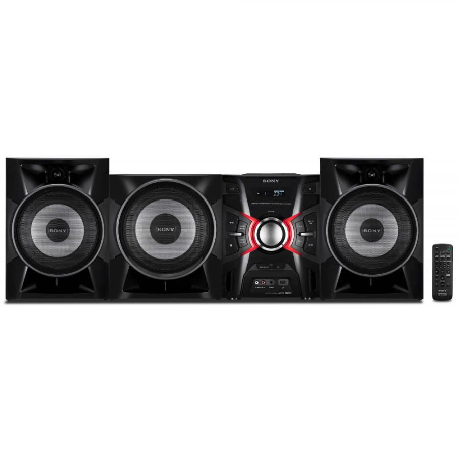 Музыкальный центр SONY MHC-EX990,  черный