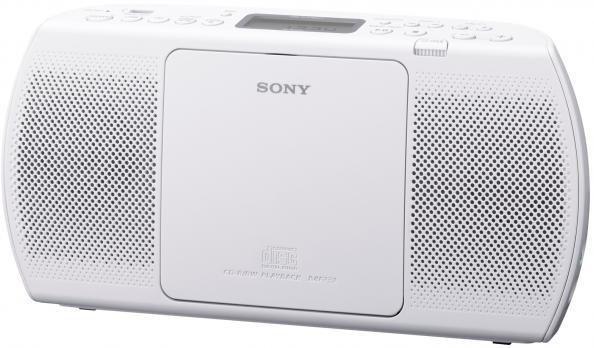 Аудиомагнитола SONY ZS-PE40CPW,  белый