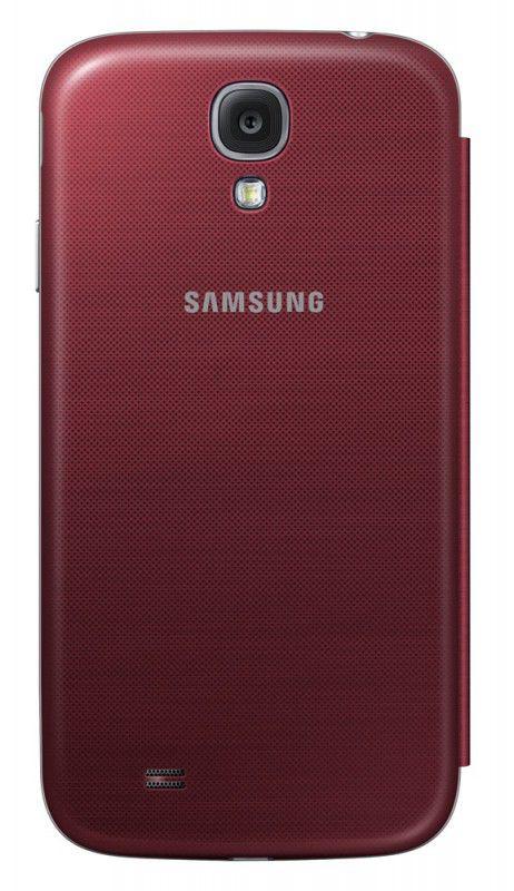 Чехол (флип-кейс) SAMSUNG EF-FI950BRE, для Samsung Galaxy S4, красный [ef-fi950bregru]