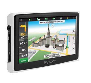 """GPS навигатор PROLOGY iMAP-7300,  7"""",  авто, 4Мб, Navitel,  черный"""