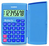Калькулятор CASIO LC-401LV-BU,  8-разрядный, голубой вид 4