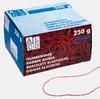 Резинки для купюр Alco 792-00 d=50мм 250гр красный картонная коробка вид 2