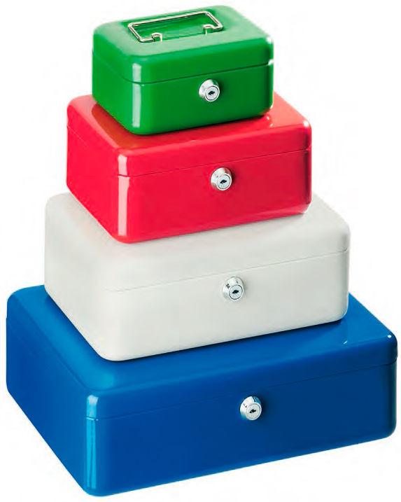 Ящик для купюр и печатей Alco 845-29 250х170х90мм серый сталь