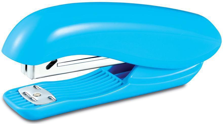 Степлер Kw-Trio 5865BLUE Full strip Dolphin 24/6 26/6 (20листов) голубой 210скоб
