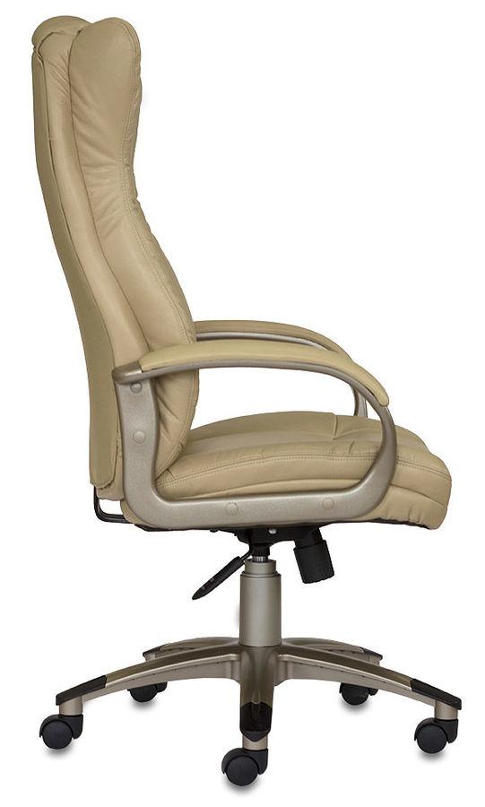 Кресло Бюрократ CH-590/DG/BLACK искусственная кожа спинка сетка серый сиденье черный