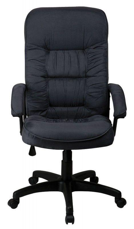 Кресло руководителя БЮРОКРАТ T-9908AXSN, на колесиках, микрофибра, темно-серый [t-9908axsn/mf110]