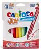 Фломастеры Carioca Joy 40531 12цв. блистер вид 3