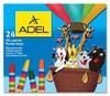 Масляная пастель Adel Colour 428-0867-000 шестигранные 24цв.д.11.5мм картон.кор.