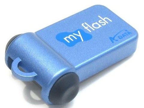 Флешка USB A-DATA My Flash PD0 1Гб, USB, синий