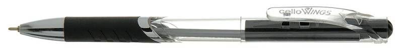 Ручка шариковая Cello WINGS авт. 0.7мм черный коробка