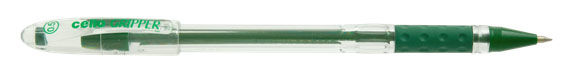 Ручка шариковая Cello GRIPPER 0.5мм зеленый коробка