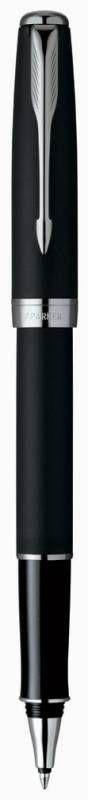 Ручка роллер Parker Sonnet T529 (S0818110) Matte Black CT F черные чернила подар.кор.