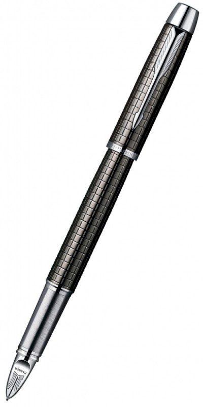 Ручка 5й пишущий узел Parker IM Premium F522 (S0976110) корпус:Deep Grey Gun Metal F черные чернила