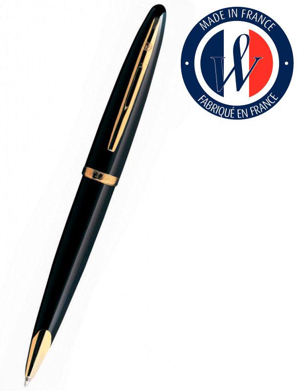 Ручка перьевая Waterman Carene (S0700300) Black GT F золото 18K подар.кор.