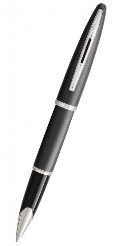 Ручка роллер Waterman Carene (S0700500) Grey Charcoal F черные чернила подар.кор.