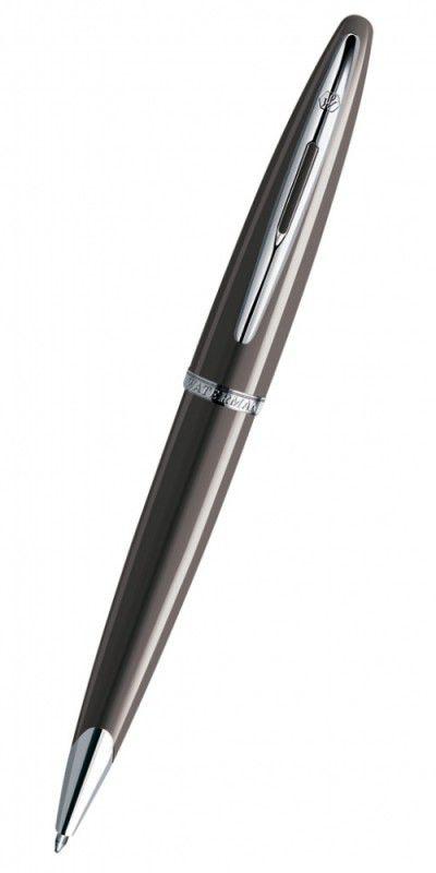 Ручка шариковая Waterman Carene (S0839740) Frosty Brown Lacquer ST M синие чернила подар.кор.