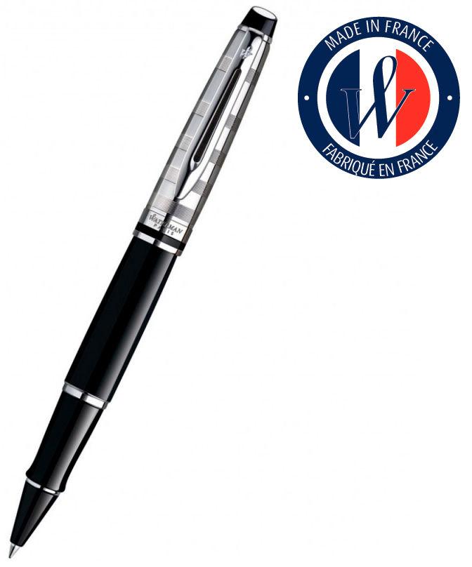 Ручка роллер Waterman Expert 3 Deluxe (S0952340) Black CT F черные чернила подар.кор.