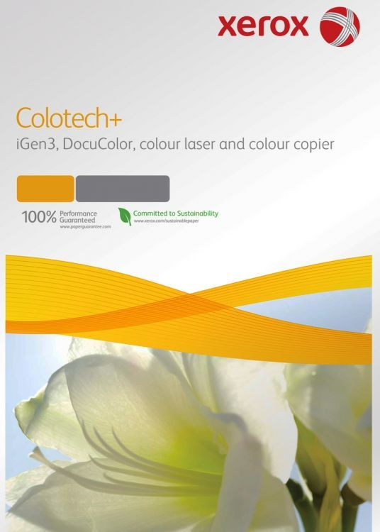 Бумага Xerox Colortech+ 003R98852 A4/160г/м2/250л./белый общего назначения(офисная)
