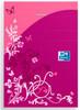 Блокнот Oxford ELEGANCE 40000462890×140мм обложка картон 48стр. линейка скрепки розовый