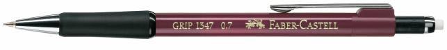 Карандаш механический Faber-Castell Grip 134721 0.7мм ластик красный