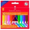 Восковые мелки Faber-Castell Jumbo 122540 трехгранные 12цв. картон.кор. стирающиеся вид 1
