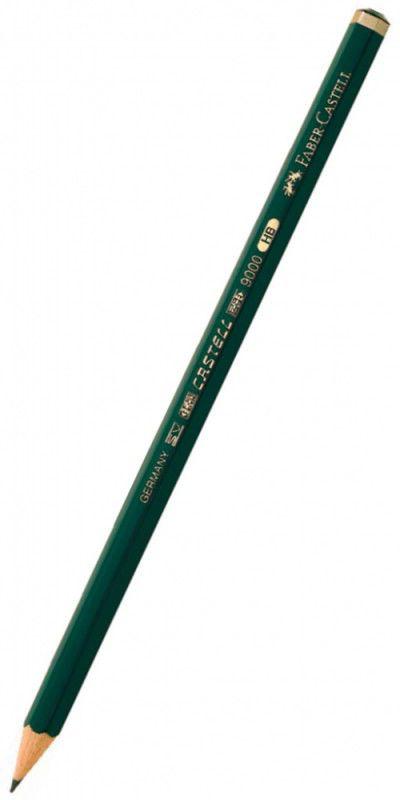 Карандаш чернографит. Faber-Castell 9000 119010 F
