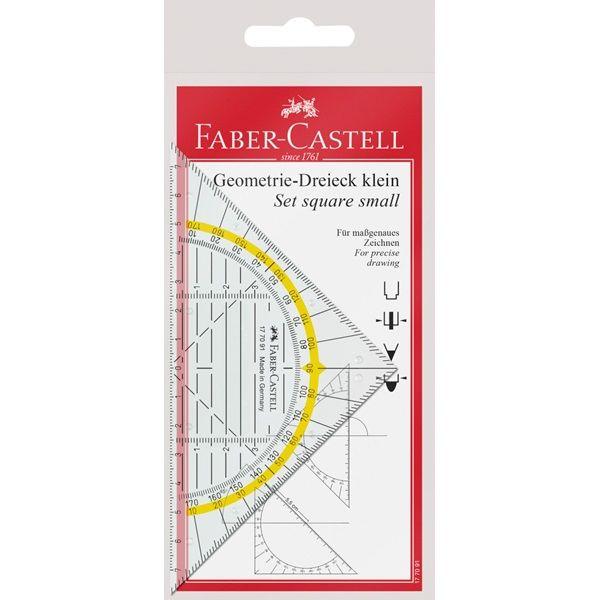 Угольник-транспортир Faber-Castell Комби 177091