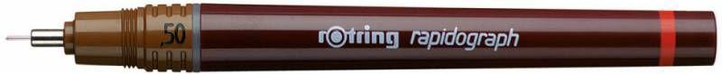 Рапидограф Rotring 1903240 0.5мм съемный пишущий узел/сменный картридж