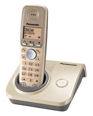 Радиотелефон PANASONIC KX-TG7205RUJ,  бежевый